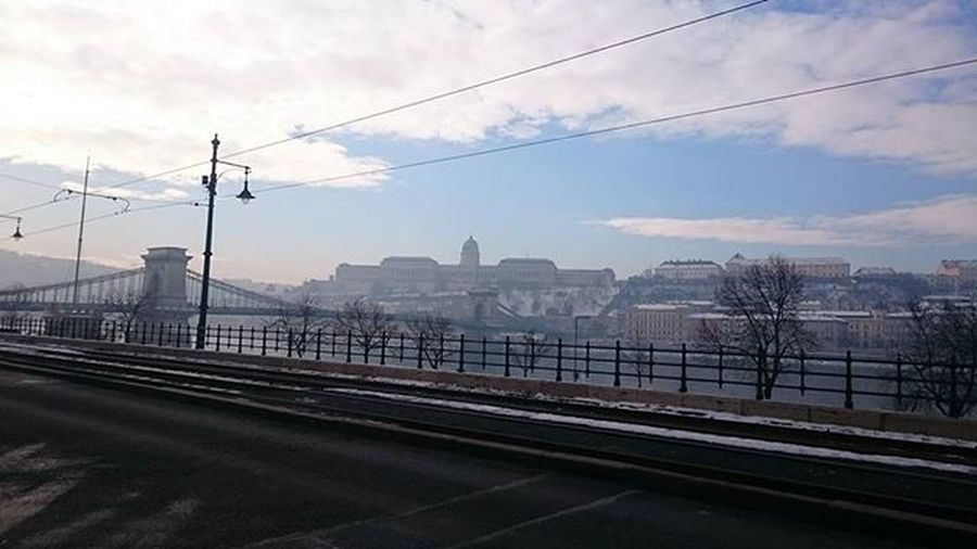 Buda BudaiVár Budacastle Fog Budapest Hungary Winter Bluesky View City Urban Nofilter Nofilterneeded Mik Ikozosseg Ig_hungary The Street Photographer - 2016 EyeEm Awards
