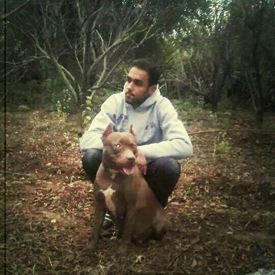 That's Me and my dog eliiiisa