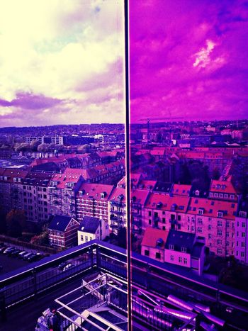 in Aarhus two different Colors Hello World Denmark
