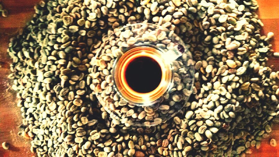 Double exprosso ..arabica coffee from highland tiyom-papua