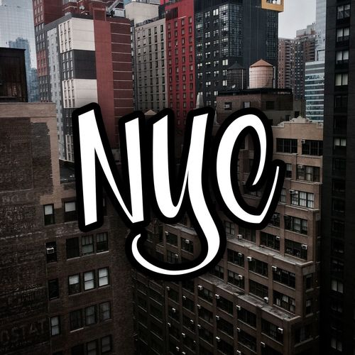 New York Text Outdoors City Hotel View