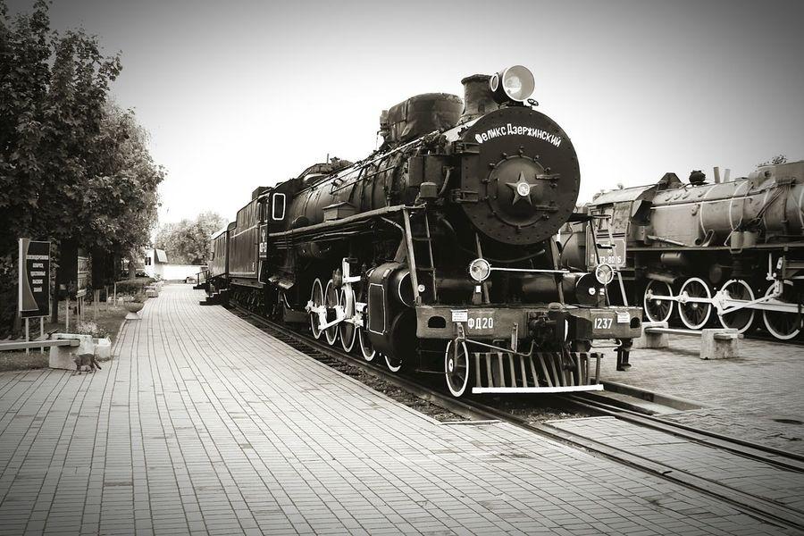 Train Steam Engine Steam Locomotive Taking Photos Photography Train Museum Retro Train Brest Belarus Transport