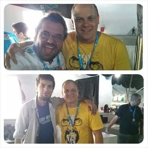 Chefia do Loopinfinito @juniornannetti @marchwill.. Galera muito bacana, muito legal... Nerd Geek Loopcast