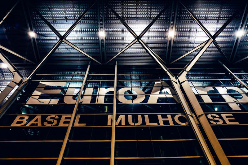 Architecture Basel Mulhouse Built Structure Capital Letter Communication Flughafen Flughafen Basel Guidance Illuminated Indoors  Information Information Sign Low Angle View Modern No People Non-western Script Number Rail Transportation Railroad Station Sign Subway Station Text Western Script