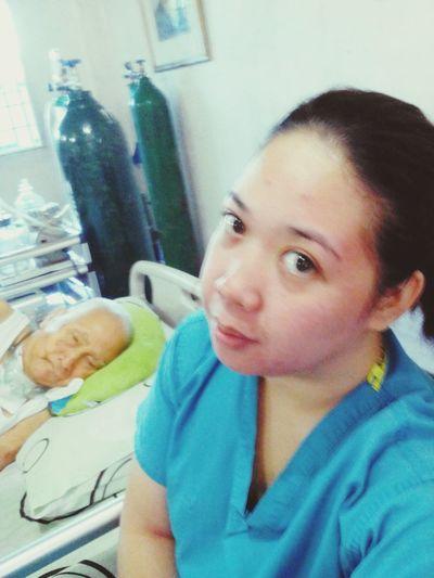 Eyebagsforlife selfie w/my pogi patient