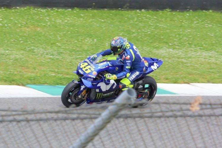 Valentino Rossi 46 Yamaha Valentino Rossi Transportation Mode Of Transportation One Person Day Sport Real People Land Vehicle Biker Sunlight Motorcycle