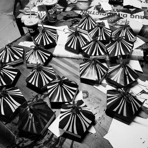 Little Boxes Of Happiness! Black And White Photography Messy Room Freshers_party