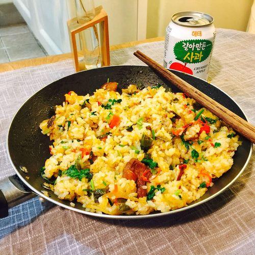 【❤️】炒个饭 🤓 春子私房菜 一个人生活 手机摄影 美食 晚饭 夜宵