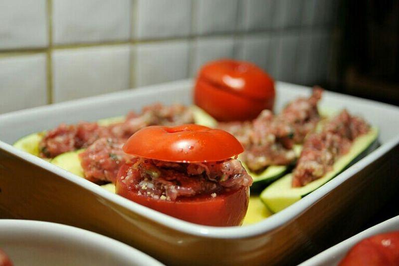 All is into the details Tomatoes Tomates Farcies Courgettes Farcies Foodporn Food Bookeh Delicious à Boire Et à Manger