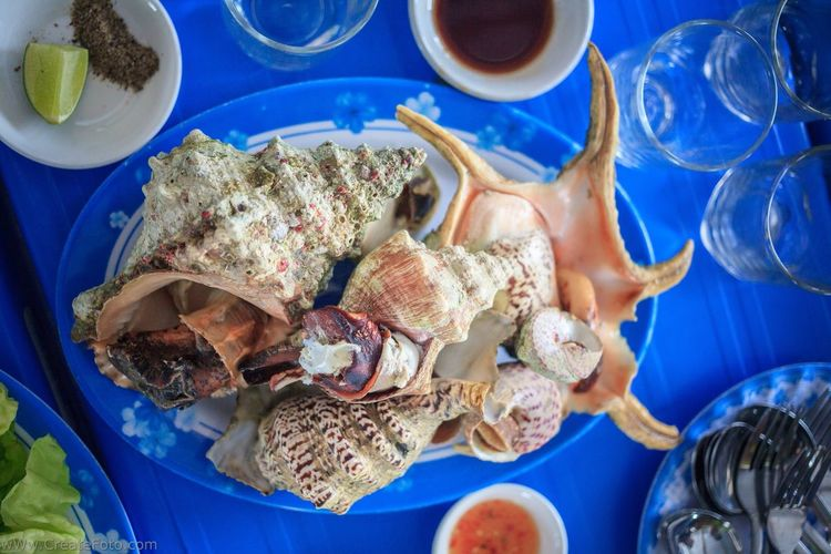 What's For Dinner? Everyday Joy Seashell Shells Seafood SeafoodLover Vacantion Vietnam Foodlover Food Photography