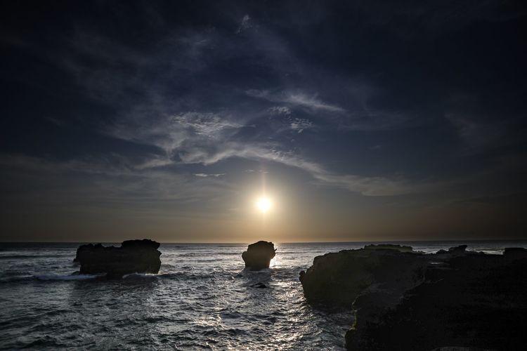 Drama sunset,