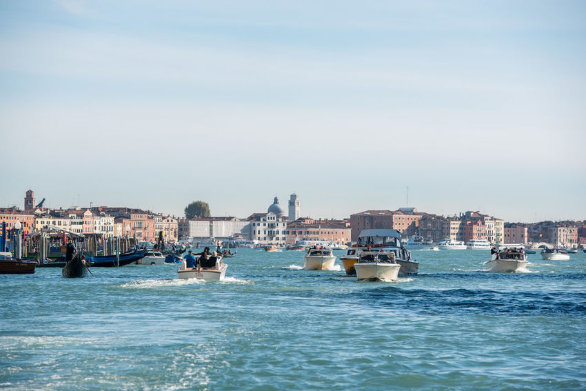 Venice, Italy Architecture Building Exterior Built Structure City Cityscape Clear Sky Day Nature Nautical Vessel No People Outdoors Sea Sky Transportation Venice Water Waterfront