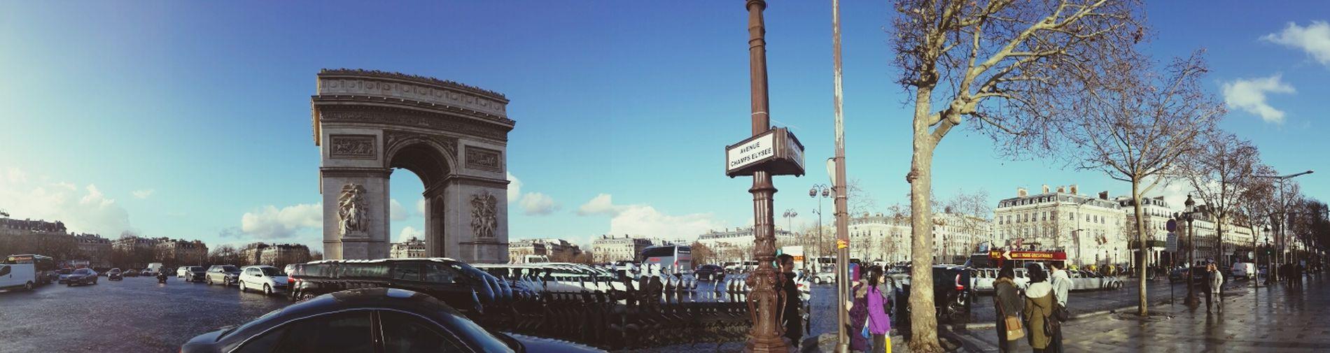Paris Arch Of Triumph Travel