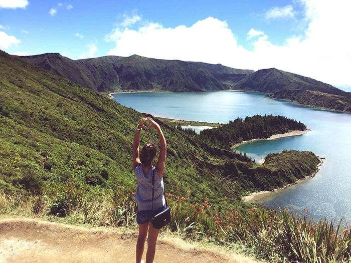 ⬅ back ⏳ Açores Pico Island View  Tourism Landscape Vacations Mountain Travel Destinations One Person Adventure People Outdoors Relaxation Lake Eye4photography  Eye4photography  Travelshots Photography EyeEm Best Shots