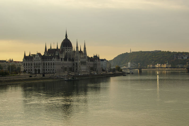 Amazing Landscapes of Budapest, Views of Hungary Building Exterior Architecture Built Structure Water Sky Waterfront River Travel Destinations Religion City Nature Building Travel No People Place Of Worship Dome Government Outdoors Spire  Budapest Budapest, Hungary Budapest Streetphotography Budapest - Hungary Hungary Hungary I <3 You Hungary🇭🇺 Hungary Photos