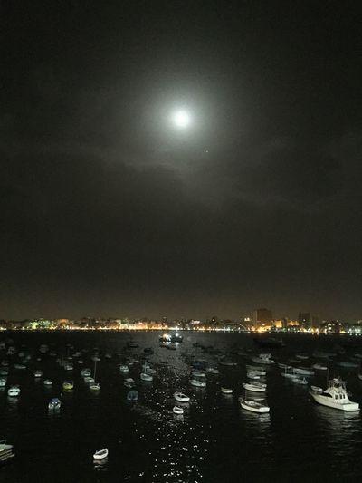 Astronomy Beauty In Nature City Cityscape Illuminated Moon Nature Night No People Outdoors Scenics Sky Star - Space EyeEmNewHere