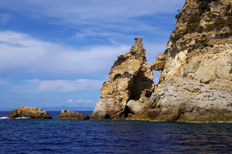 Beauty In Nature Day Horizon Over Water Nature No People Outdoors Rock - Object Rock Formation Scenics Sea Sky Tranquility Water