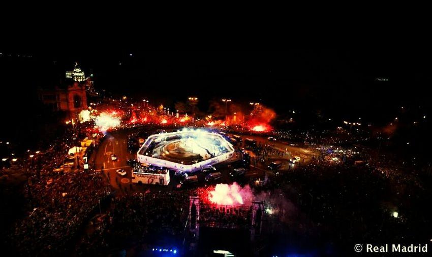 Cibeles Madrid Decima Campeones