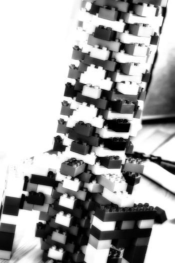 Bricks Arrangement Blocks Bricks Close-up Daddyisplaying Indoors  LEGO No People Order Selective Focus Still Life Toys Blackandwhite