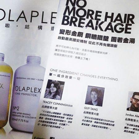 「不止是防止頭髮斷裂,讓頭髮變得更強韌堅固【結構護髮】、絲滑和豐盈,歐拉根本是護髮的天菜,我每次染髮時都搭配使用,它改變了一切,我們再也不能沒有 Olapelex 。」---品牌教育大使⤵ TRACEYCUNNINGHAM . http://easonjen.pixnet.net/blog/post/205199929 全球風靡的 Olapelex 連雜誌都宣稱,#Olapelex 真的是神奇之物啊😂😂 #Eason簡文 #頭髮都變強硬 #一分錢一分貨 #只要正貨不要爛貨 OLAPLEX Olaplex #beauty #Beautiful #day #Eastern #gray #popular #Fondleadmiringly #popular #color #dye #hair #Bleachinghair #ecouter Taipi Handsome