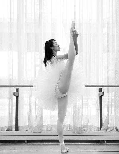 Black And White Danza Classica Danse Classique Bailarina
