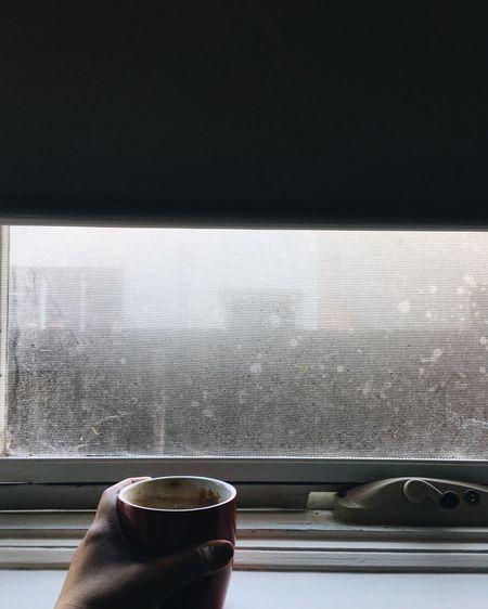 C A L M N E S S Coffee Cup Coffee - Drink Window Looking Through Window EyeEm Visual Poetry Lifeisbeautiful Heartbeat Moments Indoors  Oldsoul