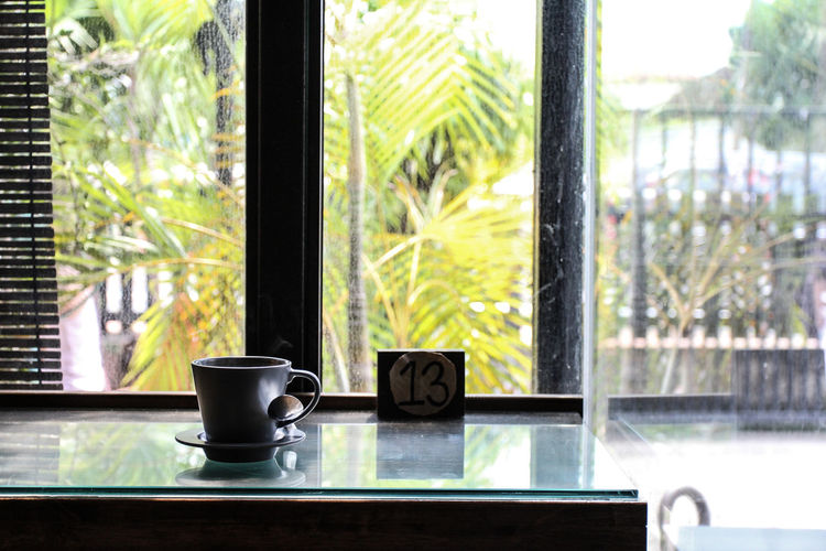 Close-up Coffee - Drink Coffee Cup Day Focus On Foreground Freshness Indoors  Nature No People Relax Table Window