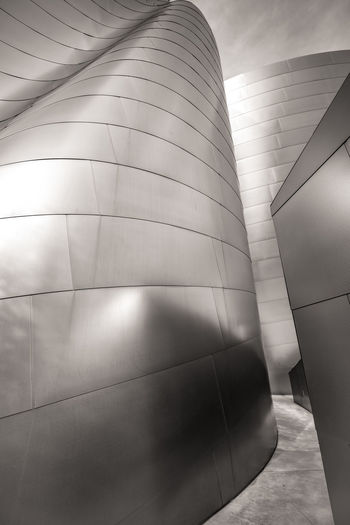 Parts of Walt Disney Concert Hall L.A. Architecture Gehry Buildings Los Angeles, California Reflection Architectural Detail Black And White Blackandwhite Building Exterior Built Structure Close-up Day Gehry No People Outdoors Steel Steel Structure  Walt Disney Concert Hall The Graphic City