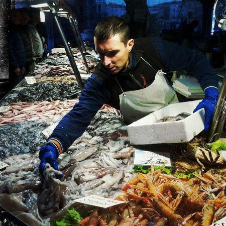 Fish Market Hipstamatic IPhoneography Mobilephotography Rialto Market The Street Photographer - 2017 EyeEm Awards Venezia Venice, Italy
