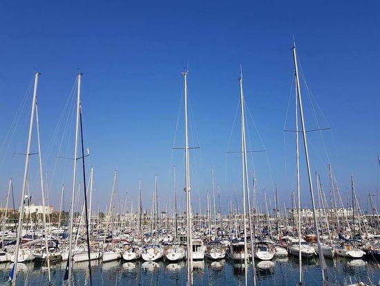 Barcelona Platja De La Barceloneta Sea⛵ Mare E Sole Day Sun ☀ Biutifull Day Zwiedzanie Port Harbor Architecture Travel Water