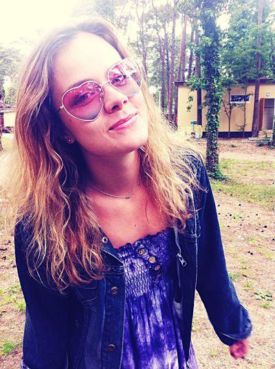 Hartshaped Sun Glasses