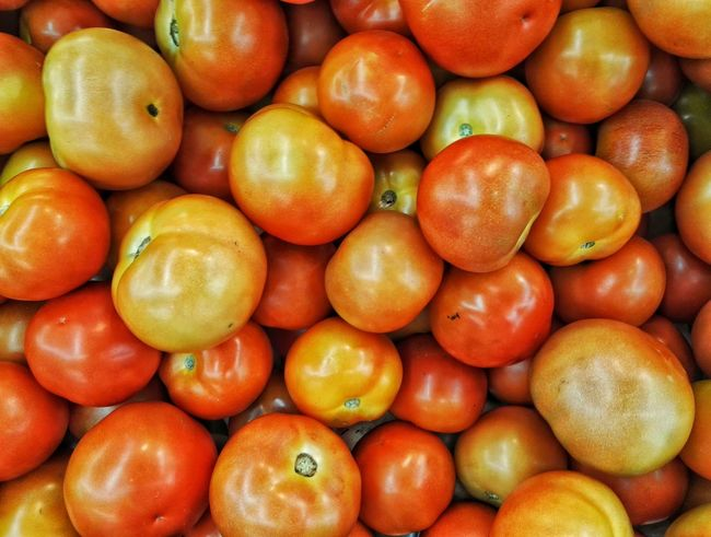 Red tomatoes. Tomatoes Red Food Background Texture Wallpaper Layflat Fresh