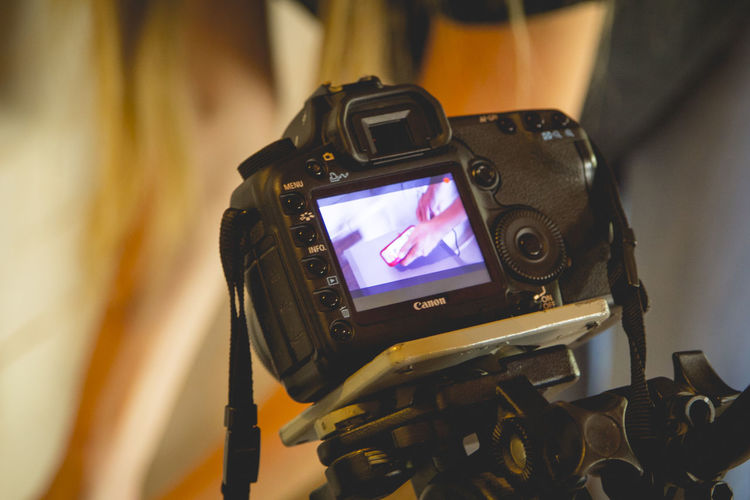 Canon 5D Mark II Canon 70d Filming Highangle Picado Reflex Tripod Tripode