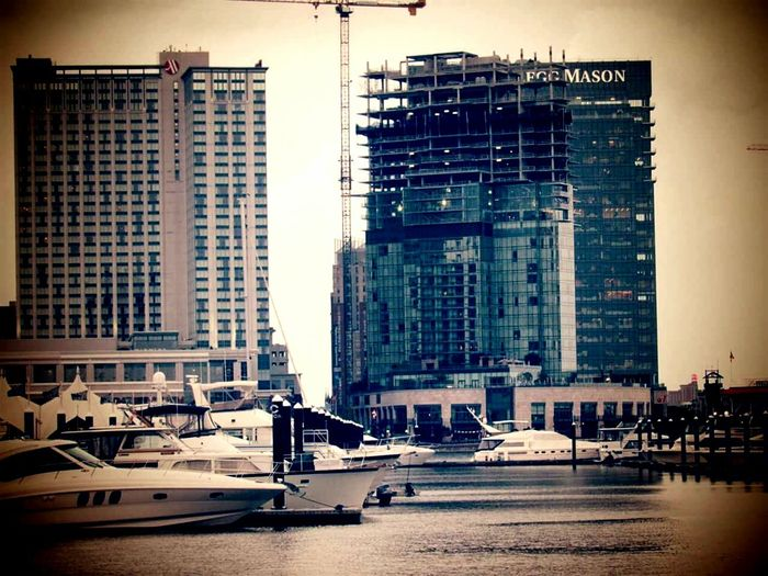 An image I captured at the Inner Harbor in Baltimore. Im still in the practicing stage with photography.