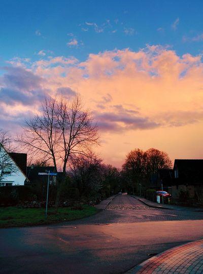 Adendorf Lüneburg SkyPics Colorful Sky