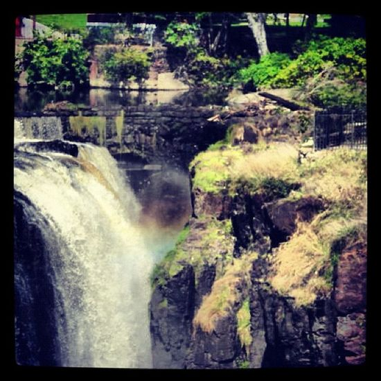 Waterfall Rainbow Newjersey Passaic