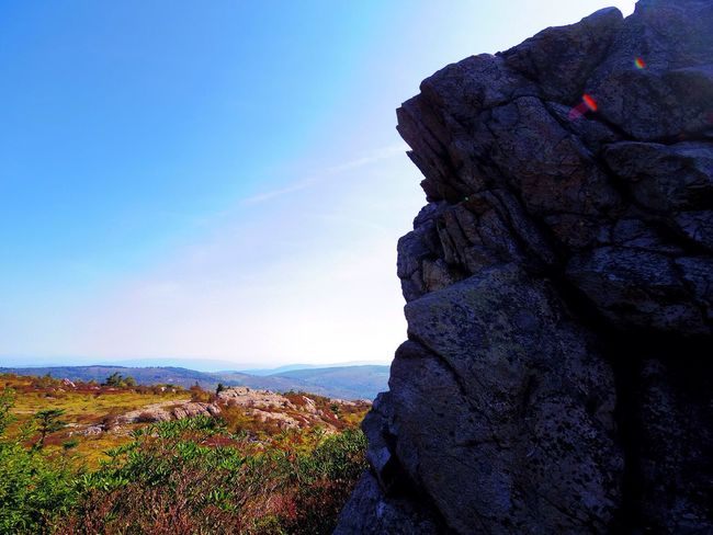 Grayson Highlands National Park Rock Formation Nature