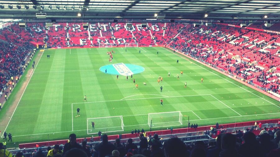 Football Liverpool Man U Pre Match Warm Up
