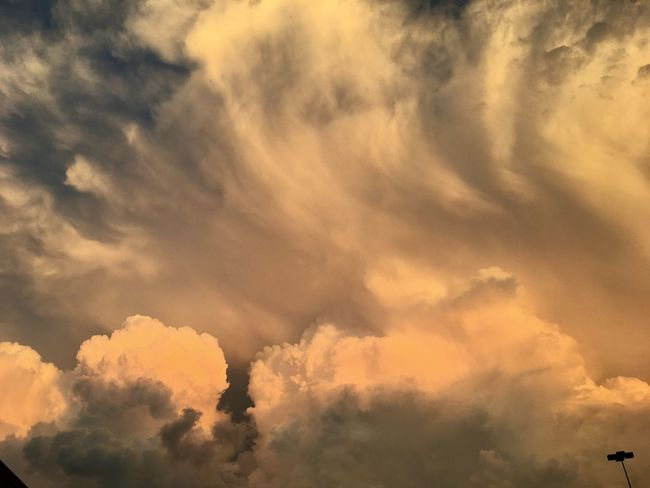 Sunset Cloud - Sky Nature Sky Beauty In Nature Tranquility Cloudscape Dramatic Sky Scenics No People Sunset Backgrounds Sky Only Outdoors Tranquil Scene Day Low Angle View