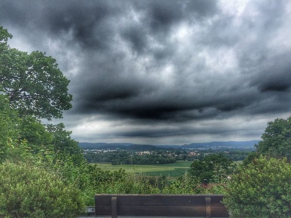Blick zur Plassenburg Plassenburg Kulmbach Cloud Clouds And Sky Nature Dark Sky Fichtelgebirge