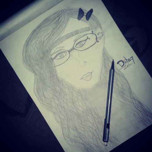 my working ʚiɞ‎‏ My Drawing Finish Work Tired