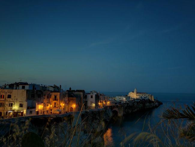 Night Vieste Puglia