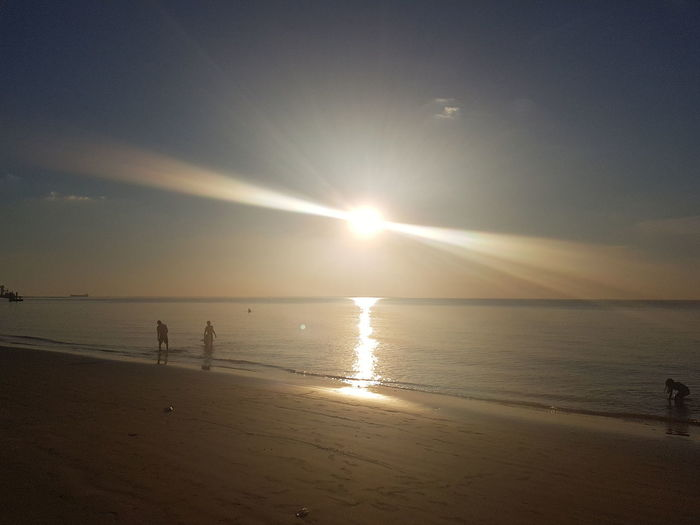 Beach Sunset Sea Caripy Barcarena PA