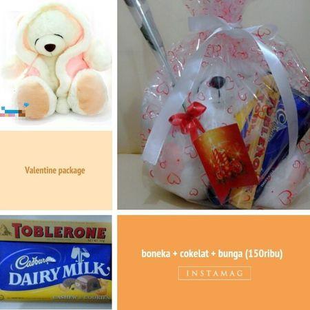 Valentine Package Boneka Cokelat Bunga Mawar 150K Pink Red Sweet Couple Teddy Bear You want?! Contact 081282548102