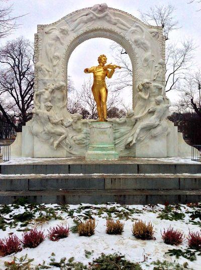 Architecture Built Structure Creativity History Human Representation Johann Strauss Sculpture Statue