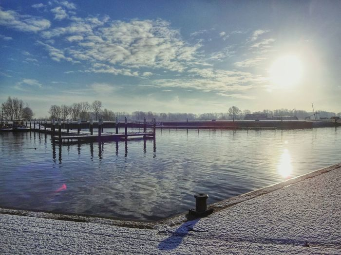 Cold morning in Wijk bij Duurstede in the Netherlands Taking Photos Photography Netherlands Tadaa Community EyeEm Gallery Getty Images Landscape #Nature #photography Sightseeing Walking Around