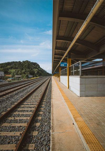 Traveling EyeEm Best Shots Rail Transportation No People Railroad Station Platform Architecture EyeEm Best Edits The Week On EyeEm