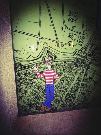 Finding Waldo Where's Waldo? Urban munich <3