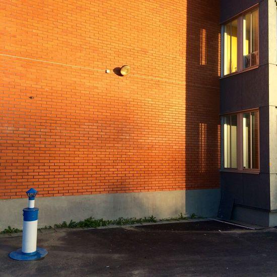 Light Bricks Wall Red