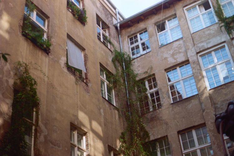Analogue picture of my trip to Berlin Analog Berlin Urban Urbanphotography Building Sky Eye4photography  Old Buildings Street Analogue Photography